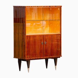 Vetrina Art Deco in macassar