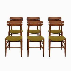 Danish Chairs in Teak, 1960s, Set of 6
