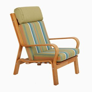 Vintage Modell GE671 Armlehnstuhl von Hans J. Wegner für Getama