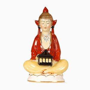 Parfum et Lampe de Parfum Buddha Artural Style Bouddhiste Tibétain, Allemagne