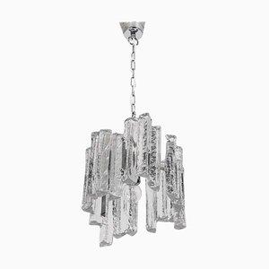 Kleine Murano Eisglas Hängelampe, 1970er