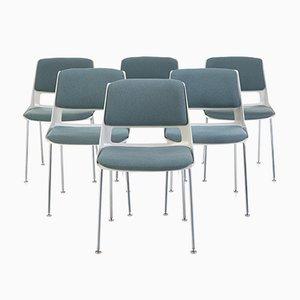 Esszimmerstühle von André Cordemeyer für Gispen, Niederlande, 6er Set