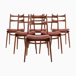 Mid-Century Dining Chairs from Habeo, Set of 6