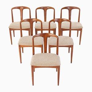 Juliane Esszimmerstühle von Johannes Andersen für Uldum Møbelfabrik, 6er Set