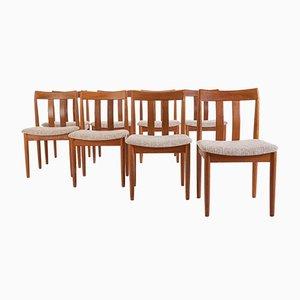 Danish Teak Dining Chairs from Vamdrup, Set of 8