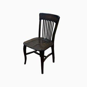 Oak Desk Chair from EDF, 1930s