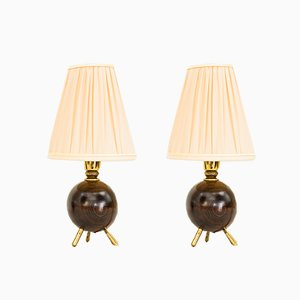 Table Lamps by Rupert Nikoll, Vienna, 1950s, Set of 2