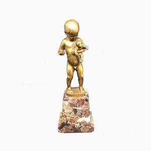 Bronze Figur von Rudolf Marcuse