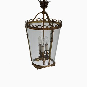 Lantern in Brass and Glass, 1950s