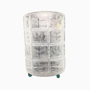 Vase aus Kristallglas von Rosenthal