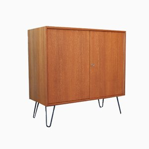 Mid-Century Teak Chest of Drawers or Cabinet from WK Möbel, 1960s