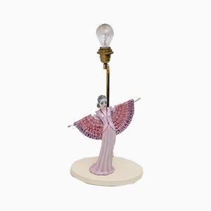 Lampe de Bureau Mid-Century Moderne en Céramique de Tarcisio Tosin, Italie, 1960s
