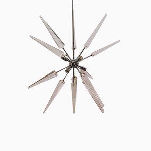 Sputnik Stahl Kronleuchter mit 6 Leuchten
