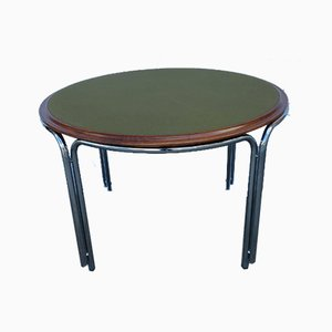 Round Game Table by Gianfranco Frattini for Cassina