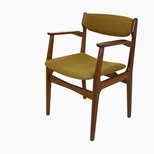Teak Desk Chair, Denmark, 1960s