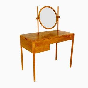 Oak Dressing Table, Sweden, 1960s