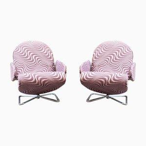 Model 123 Easy Chairs by Verner Panton, 1973, Set of 2
