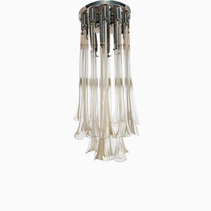 Cali Series Chandelier by Ettore Fantasia and Gino Poli for Sothis Italia, 1970s