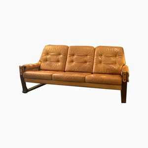 Mid-Century Sofa in the Style of Sergio Rodrigues