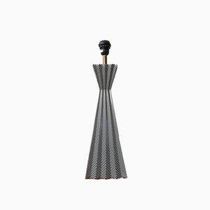 Französische Geometrische Tischlampe aus Keramik, 20. Jh. Von Fabienne Jouvin, Paris