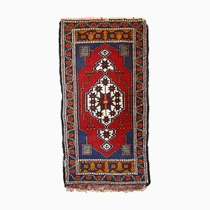 Vintage Turkish Yastik Carpet, 1960s