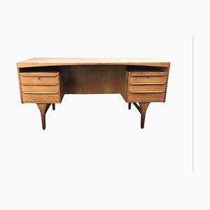 Danish Oak Desk, 1960s