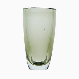 KF 108 Kunstwerk aus Graugrünem Glas von Kaj Franck für Nuutajärvi-Notsjö, Finnland, 1954