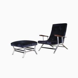 Lounge Chair & Ottoman from Officine Giuseppe Sordina Padova