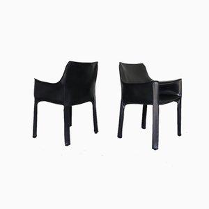 Cab Stühle von Mario Bellini für Cassina, 6er Set