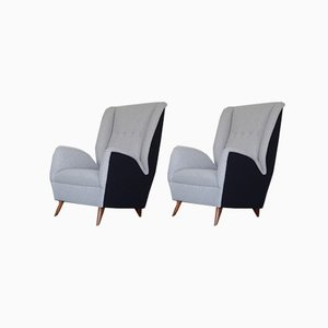 Armchairs by Gio Ponti, Set of 2