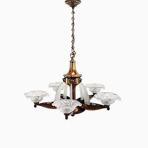 Vintage Ceiling Lamp from Atelier Petitot & Ezan