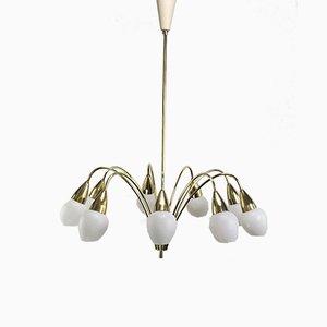 Sputnik Ceiling Lamp from Kaiser Leuchten, 1950s