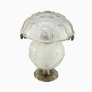 Art Deco Desk Lamp from Muller Freres Luneville