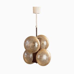 Space Age Sputnik Atomic Hanging Lamp, 1970s