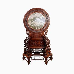 Großer Chinesischer Meditationsschirm, 20. Jahrhundert