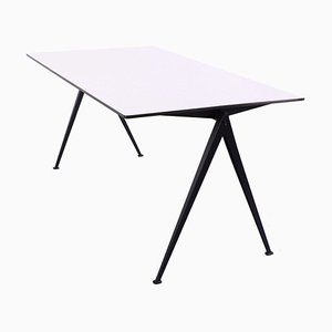 Large Compass Pyramid Table by Wim Rietveld for Ahrend De Cirkel, 1950s