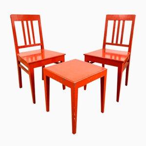 Stühle und Tisch Set, Schweden, 1970er