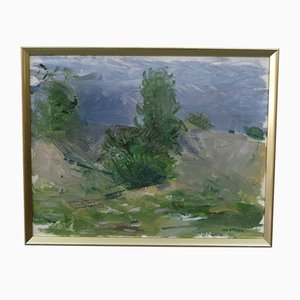 Tore Nilsson, Swedish Modern Oil Painting, 1970s