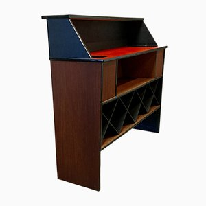 Mueble bar escandinavo, años 50