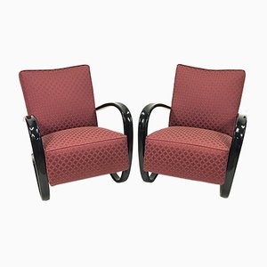 Model H-269 Armchairs by J. Halabala for Thonet, 1930s, Set of 2