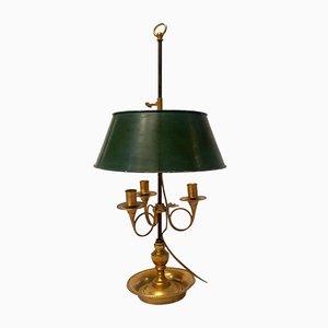 Empire Bouillotte Lampe aus Bronze, 19. Jh
