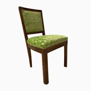 Art Deco Stuhl in Apfelgrün