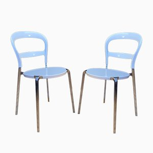Wien Stühle von Calligaris, Italien, 2er Set