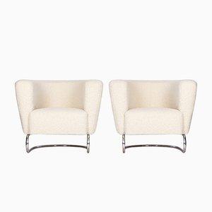 Funktionalistische Stühle, 1930er, 2er Set