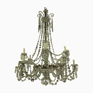 Antique Cut Glass Chandelier from Perry & Co.