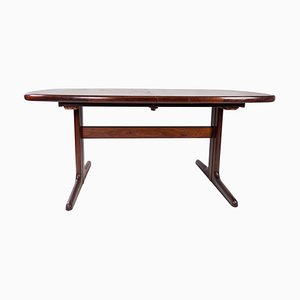 Danish Rosewood Dining Table with Extensions from Skovby