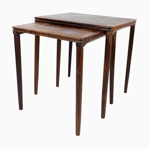 Danish Rosewood Nesting Tables, 1960s