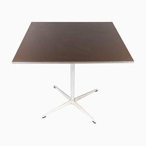 Table de Salle à Manger en Métal et Stratifié par Arne Jacobsen pour Fritz Hansen