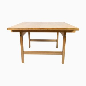 Coffee Table in Oak by Hans J. Werner for PP Furniture