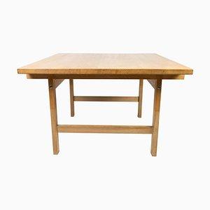 Tavolino da caffè in quercia di Hans J. Werner per PP Furniture